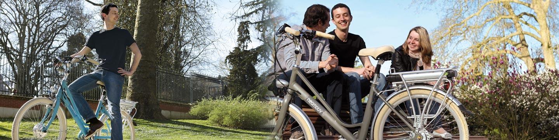 Les vélos de ville électriques chez 2 Roues Vertes à Toulouse
