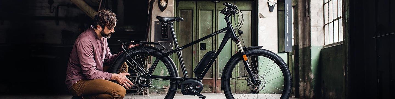 Les vélos VTC électriques chez 2 Roues Vertes à Toulouse